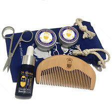 Dr Beard Mens Grooming Kit 6 Piece Set 100% Natural Organic - Mango & Vanilla