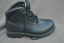 Brahma Black Slip & Oil Resistant Work Boots MNBR0340101 Men's Size 8.5 W Wide