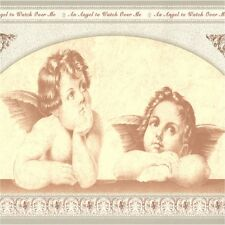 ANGELS CHERUBS  SET OF 4 COASTERS RUBBER WITH FABRIC TOP