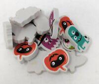144 Mini Clown Erasers Wholesale Party Favors