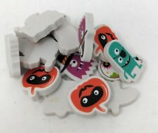 Halloween Erasers Party Favors 16 Count Erasers Spooky Faces