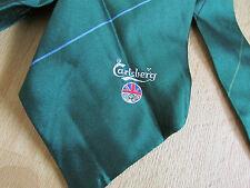 CARLSBERG PURA SETA British OLYMPIC associazione sponsor Cravatta-VEDI FOTO