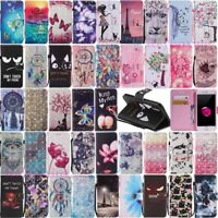 Wristlet Leather Wallet Card Holder Phone Case Cover For iPhone Xs 8 7 6 6s Plus
