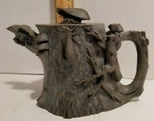 Exquisite Chinese Boxwood Hand Carved Style Teapot