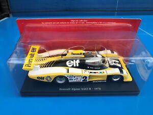 TEST N°2 HACHETTE 24H 24 heures du Mans 1/24 RENAULT ALPINE A442 B 1978 Neuf