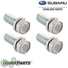 OEM Subaru Disc Brake Caliper Bracket Mount Bolt SET 4 Impreza WRX STi 901130011
