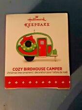 Hallmark MINIATURE Ornament 2015 Cozy Birdhouse Camper