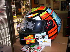 CASCO AGV INTEGRALE K3 SV REPLICA VALENTINO ROSSI ELEMENTS DOPPIA VISIERA ML