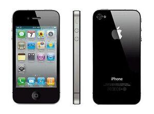 Apple iPhone 4 4G Unlocked iOS 8GB 3.5in Smartphone Original 3G White/Black WIFI