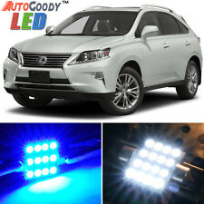 17 x Premium Blue LED Lights Interior Package for Lexus RX350 RX450h 10-15 +Tool