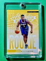 Zion Williamson HOT ROOKIE ABSOLUTE MEMORABILIA 2019-20 RC #1 PANINI INSERT Mint