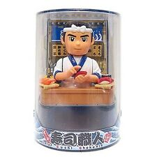 Solar figure Sushi chef japanese toy