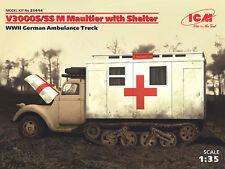 ICM 1:35 35414: Halbkettenfahrzeug V3000S/SS M Maultier