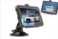 "5""inch GPS SAT NAV Car Navigation System Newest AU/EU/US/CA Maps Free Update 4GB"
