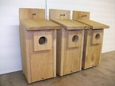 3 - Bluebird Bird House Cedar with Predator Guard