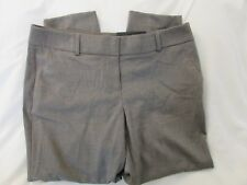 "Ladies ""Apt 9"" Size 14P, Cinder Birdseye Mid Rise Modern Fit Tapered Ankle Pants"
