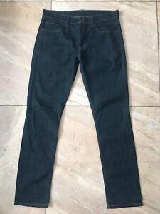 Levi's 511 Slim Fit Stretch Dark Blue Jeans W33 L32