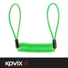 kovix fluo vert haute visibilité Bloque disque rappel câble protection outil