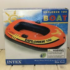 Intex Explorer100 1-Person Inflatable Raft Boat Series 6 Years and Up 58329EP
