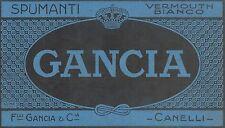 Y9792 Spumanti GANCIA - Canelli - Pubblicità d'epoca - 1924 Old advertising