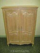 ethan allen country french bisque collection video center armoire 26