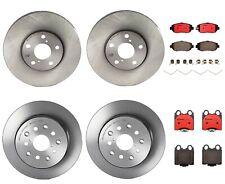 Front Rear Brembo Brake Kit Disc Rotors Ceramic Pads For Lexus GS300 GS430 SC430
