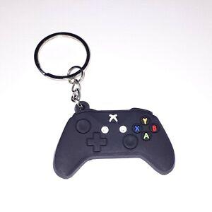 Black Xbox Game Controller Keyring Keychain Key Ring Key Chain Gaming