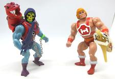 MOTU Lot Masters of the Universe Dragon Blaster Skeletor Thunder Punch He-Man