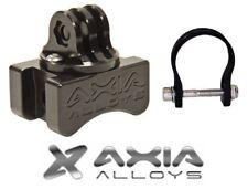 "Axia Alloys Gopro Camera Tube Bar Mount w/ 1.75"" Bar Clamp - Bright Black MODPRO"