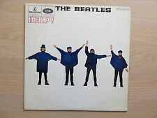 THE BEATLES Help UK 1st press stereo vinyl LP with 'Emitex' inner Ex+