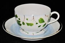 Raynaud VERDURES Cup & Saucer Set, designed by Christian Tortu, Limoges