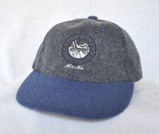 *WHITE PASS YUKON ROUTE ALASKA* Railroad Train Structured Wool Ball cap hat