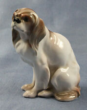 Pekingese Chien Chiens personnage porcelaine personnage Rosenthal Cavalier King Charles 1927,2