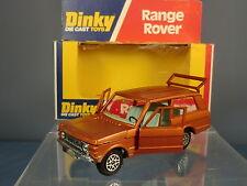 "DINKY TOYS MODEL No.192 RANGE ROVER ""BRONZE"" WITH "" LIGHT BLUE""  INTERIOR MIB"