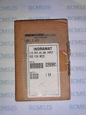 New Indramat RMI.01.00 Input Mod 226981, RMI-01-00, RMI 01 00, RM I-01