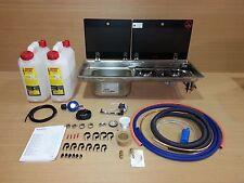 Smev Dometic 9722 Campervan Sink & Cooker Combination Unit KIT LH 10L & Template