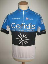 Cofidis TAARAMAE Estonia jersey shirt cycling maillot trikot France size L