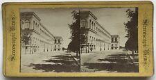 Palais de l'industrie Paris Photo Stereo Albumine c1875