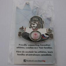 2014 Sochi Winter COC Petro- Canada Spinner Dated Mascot Pin