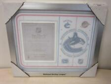 NHL Ice Effects Photo Frame Vancouver Canucks Hockey League Frame for 8x10 Photo