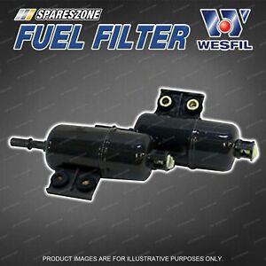 Wesfil Fuel Filter for Honda Accord CG CK Civic ES EU CRV RD RE 4Cyl V6 Petrol