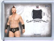WWE Sheamus 2016 Topps Undisputed Event Worn Shirt Relic Card SN 27 of 175