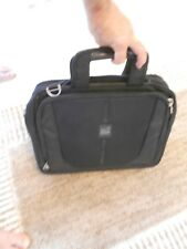 PACIFIC DESIGN BRIEFCASE/ATTACHE MANY MANY COMPARTMENTS VG++