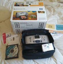 HP Photosmart 245 Digital Photo Printer & case NEW in box
