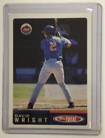 DAVID WRIGHT 2002 Topps Total # 403 XRC Rookie Card RC METS