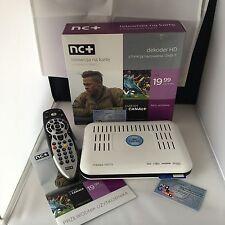 NC + Telewizja na karte HD PVR + 1 Mies EXTRA canal + cyfra cyfrowy WARSAW Sport