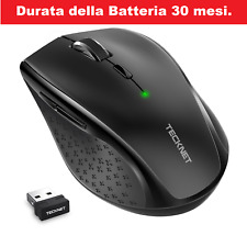 MOUSE WIRELESS SENZA FILI GAMING ERGONOMICO 3000 DPI PROFESSIONALE PC NOTEBOOK.