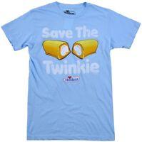Hostess Save the Twinkie Light Blue Men's T-Shirt New