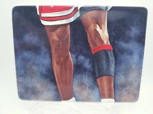 """Michael Jordan 1999 Upper Deck Collectible Plate """"On the Rise"""" No. 5463A 6x9"""
