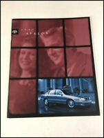 1999 Toyota Avalon 30-page Original Car Sales Brochure Catalog